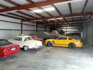 collector car storage